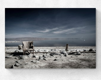 Salton Sea - The Chair at Salton Sea Marina