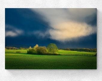 England Landscape Little Coxwell Clouds