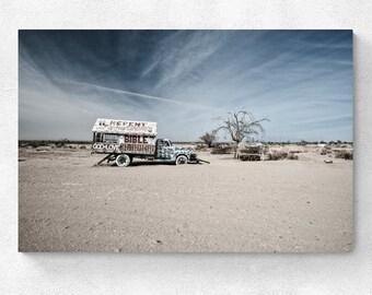 "Salton Sea - Salvation Mountain ""Repent"""