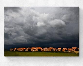 England Landscape Cotswolds Storm Coming