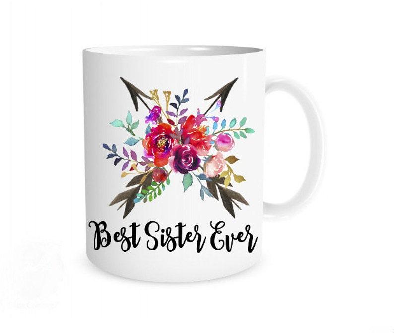 Best Sister Ever Mug Gift For Present