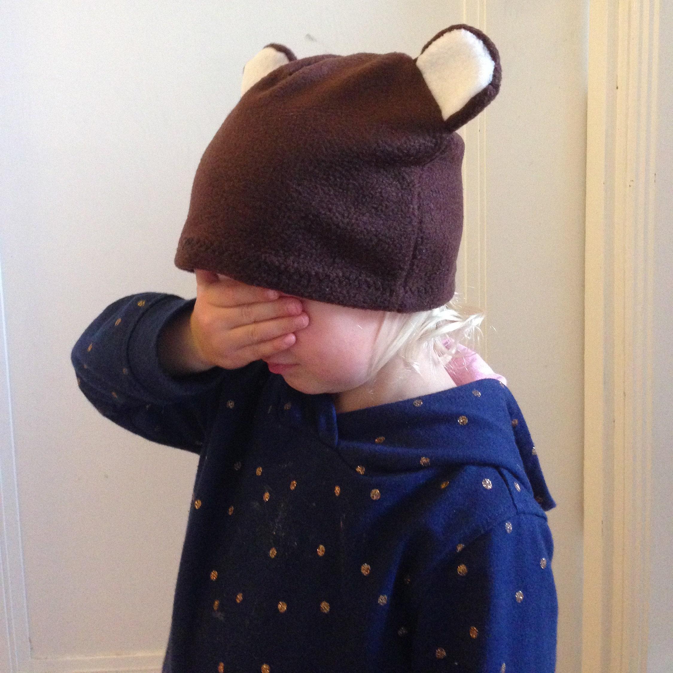 Children s Bear Hat dress up hat kids dress ups c55e955b31a