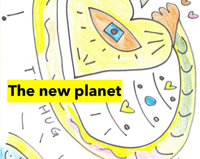 The new planet:The Blue Planet (I), Planet Yland (II), Planet Lustre (III) & The new planet (IV)