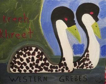 Western Grebes