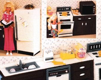 Barbie Kitchen Set Etsy