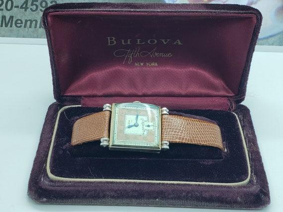 Vintage Bulova Watch 1931 with Bulova Presentation