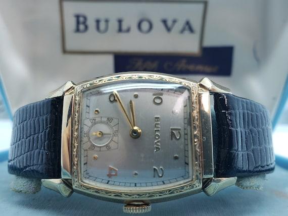 Vintage Watch Bulova Cadet with Bulova Presentatio