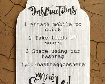 Selfie stick tags x7