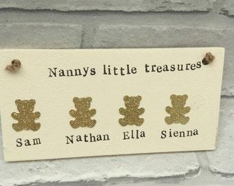 Personalisiert Familie Namen Disney Plaketten Schild Holz Handmade