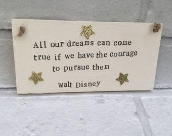 Walt Disney Disney Plaque Disney Quotes Family Plaques Etsy