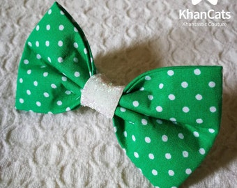 "Cat Bow Tie Bowtie for Cats and Dogs ""The Mint"""
