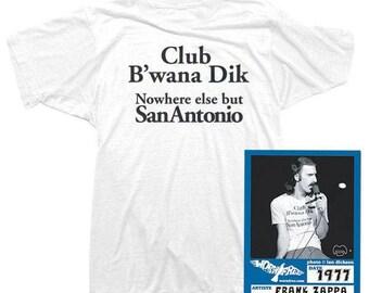 8070fa33 Frank Zappa T-Shirt - B'wana Dik Tee worn by Frank Zappa