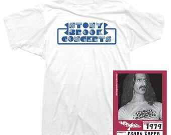 8ca42a18 Frank Zappa T-Shirt - Stony Brook Tee worn by Frank Zappa