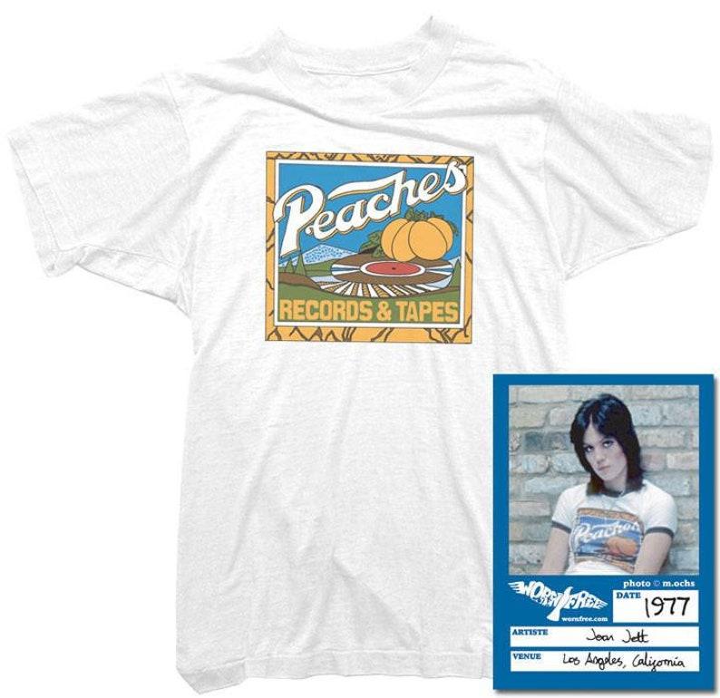4d5f004e Joan Jett T-Shirt Peaches Records Tee worn by Joan Jett | Etsy