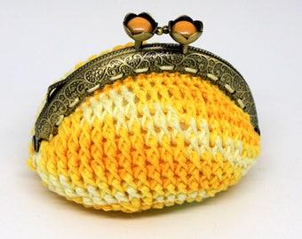 Vintage coin purse crochet purse