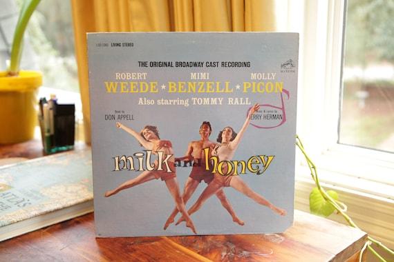 Milk And Honey Record Vintage Lp Album Original Cast 1961 Musical Soundtrack