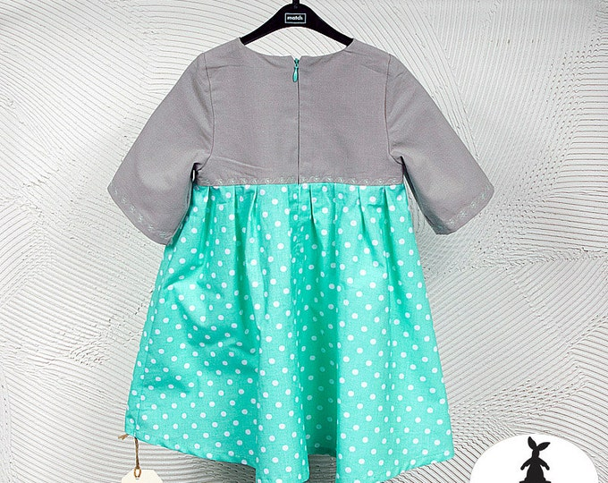 Mint Dress- Your fave mascot dressed like you