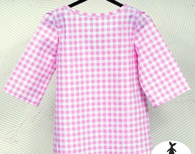 Checkered Tunic- Girls' Clothing