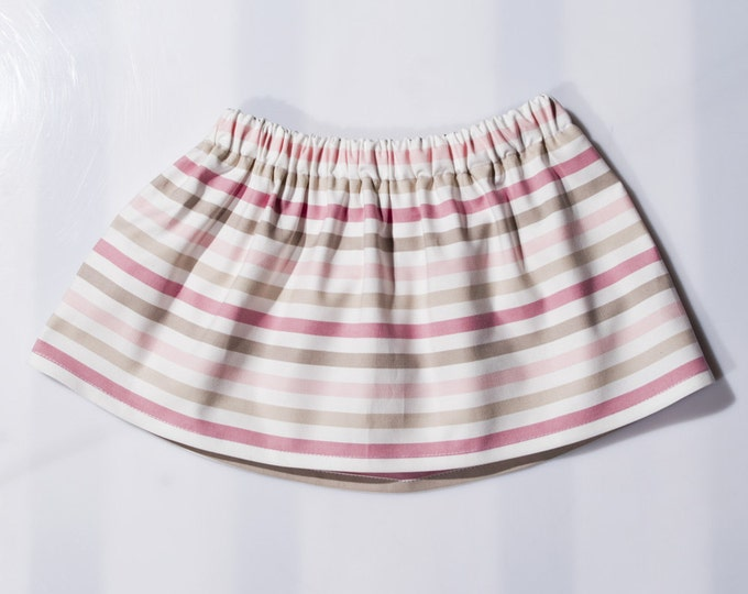 Skirt with stripes- Girls' Clothing