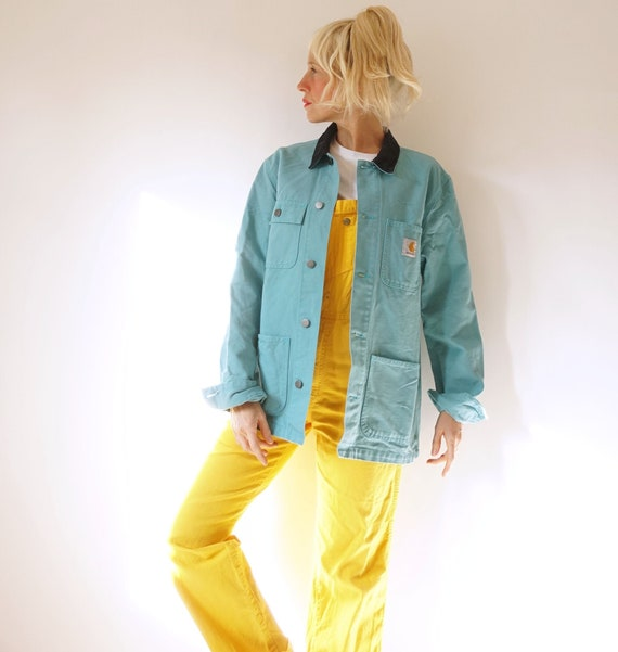 Vintage Frosted Sea Carhartt Chore Jacket | Workwe