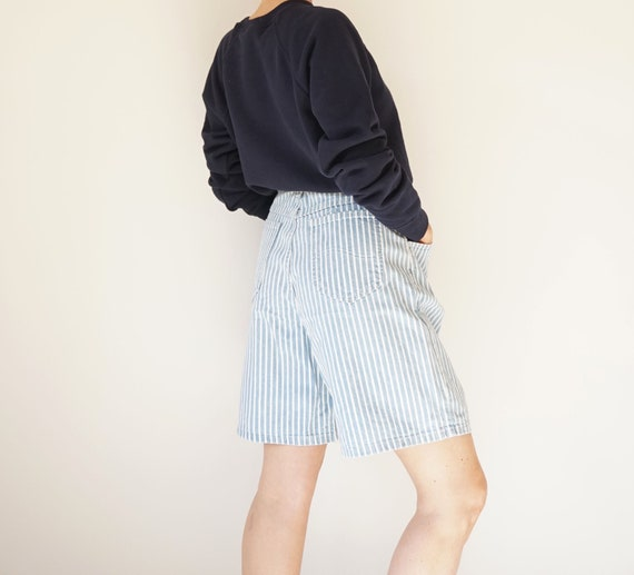 "Vintage Striped Lee 30"" W Denim Shorts 
