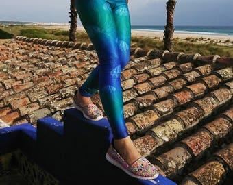 2dfc69ab28f986 Kids Leggings, Girls Leggings, Yoga leggings, Printed Leggings, Performance  Leggings, Yoga Pants, Dance Pants, Matching mother daughter. BrightBoho