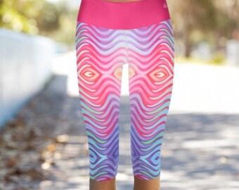 Yoga Leggings, Printed Leggings, Workout Pants, Boho Leggings, Womens Leggings, Colorful Leggings, Yoga Pants, Stretch Leggings