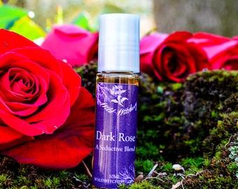 Dark Rose Perfume~A Seductive Blend~Black Rose~Gothic~Essential Oil
