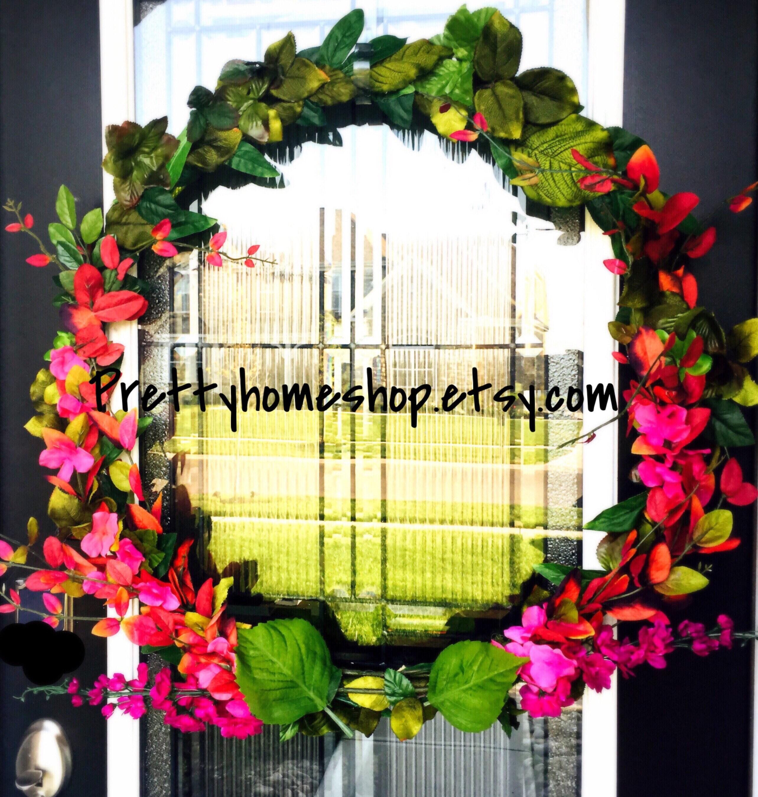 Unique Front Door Wreaths Modern Wreath Beautiful Front