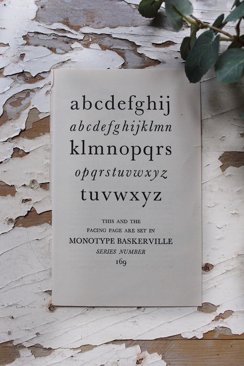 Small Alphabettypography book plates