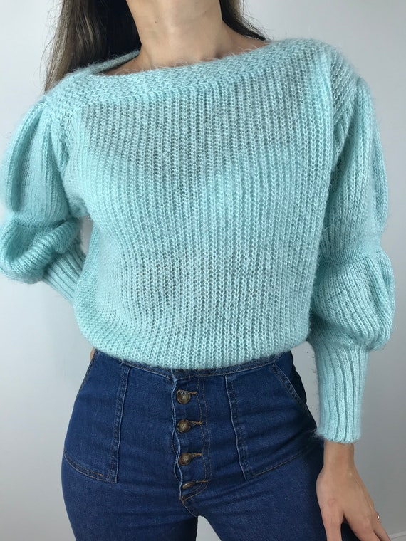 Vintage Mohair/ Mohair Blend Sweater