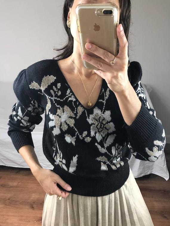 Vintage Lurex Sweater
