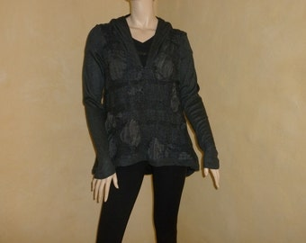 LAUREN VIDAL 1990s vintage sweater Wool Sweater, original and warm sweater