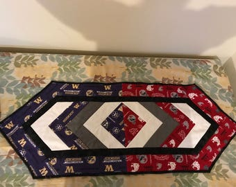 House divided table runner