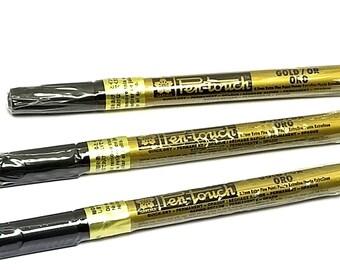 Sakura 41101 Sakura Pentouch - 12//pk Xf-Gold 0.7mm