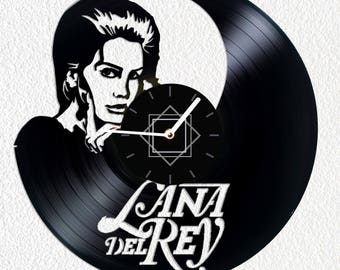 Christmas gifts for her  clock Lana Del Rey