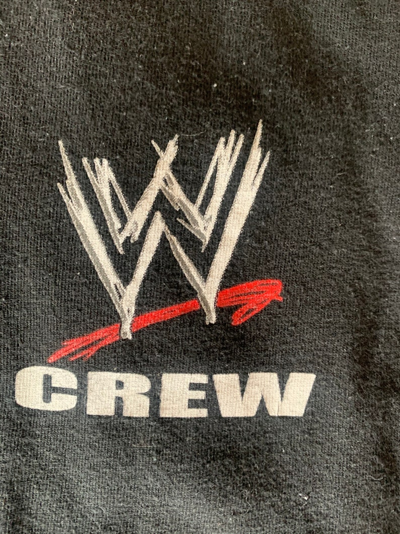 WWE crew shirt
