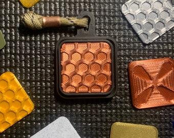 Honeycomb Fidget Slider, Haptic Magnetic Fidget Slider, Office Fidget Toy, Edc Gear For Fun, Desk Toy, Anxiety & Stress Relief, ADHD Tool
