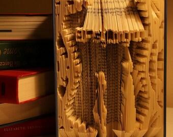 Mayuri and Kyouma from STEINS;GATE || Folded Book Art