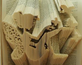 FAIRY || Folded Book Art