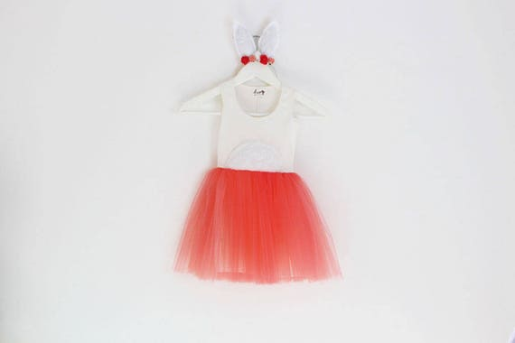 Bunny Costume Toddler Girl Halloween Costume Girls Dress Up Etsy