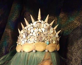 Monotone Mermaid Crown