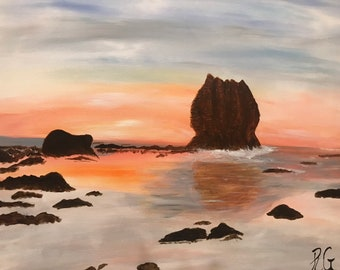 Eagle Rock Ocean Scene