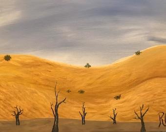 Desert of forgotten memories