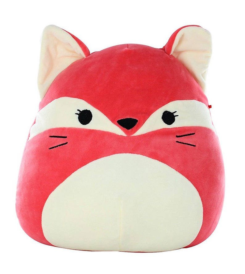 5fdfb9282e01 Kellytoy Fifi The Red Fox Squishmallow Super Soft Plush Pillow image 0 ...