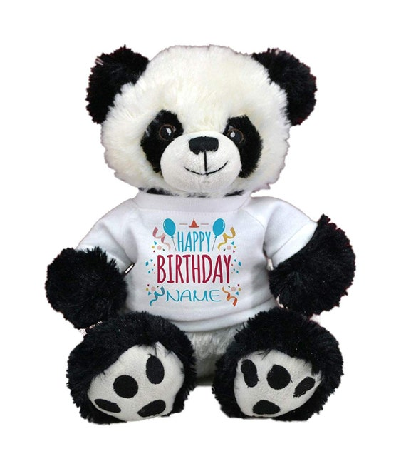 Anxiety Stuffed Animal, Personalized Birthday Cute Panda Teddy Bear 11 Plush Etsy