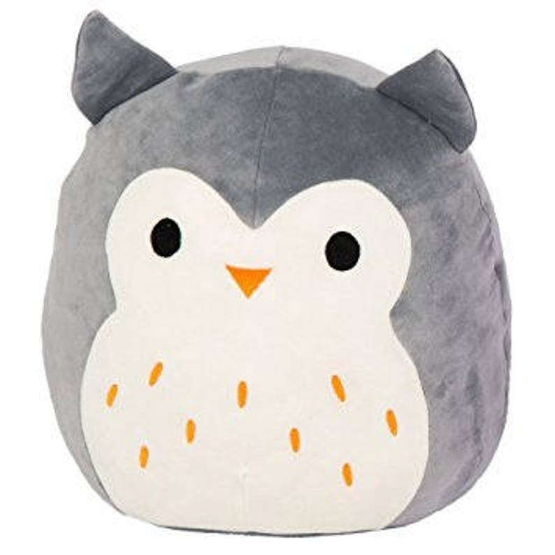 c233587ef61b Customized Kellytoy Hoot the Gray Owl Squishmallow Super Soft | Etsy