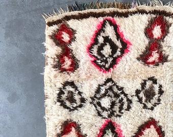 AZILAL MOROCCAN RUNNER #109 - Vintage Handmade Carpet