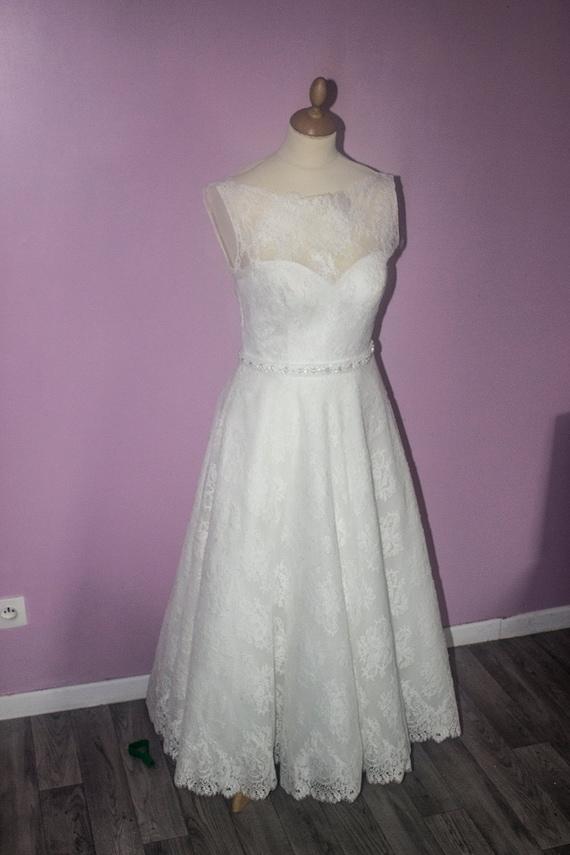 Robe De Mariée Style Année 50 Eu Taille 38