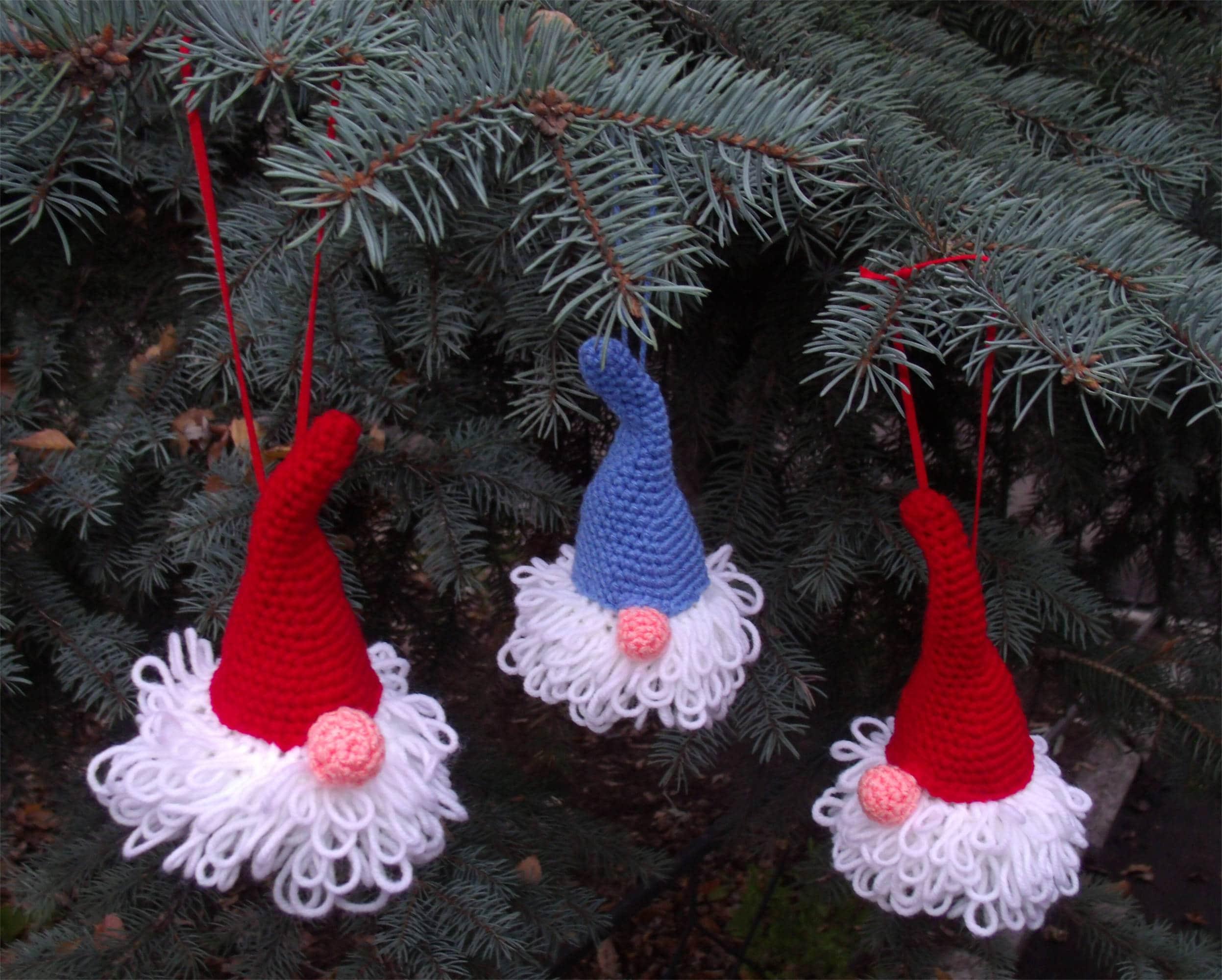 Häkeln Weihnachten Gnome Ornament norwegischen Weihnachten | Etsy